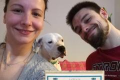 Jack - diploma di cane educato