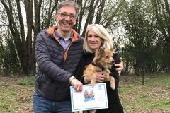Sally - diploma di cane educato