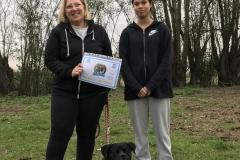 Kira - diploma di cane educato