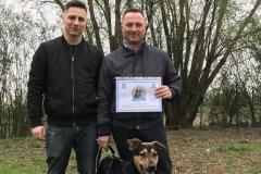 Paco - diploma di cane educato